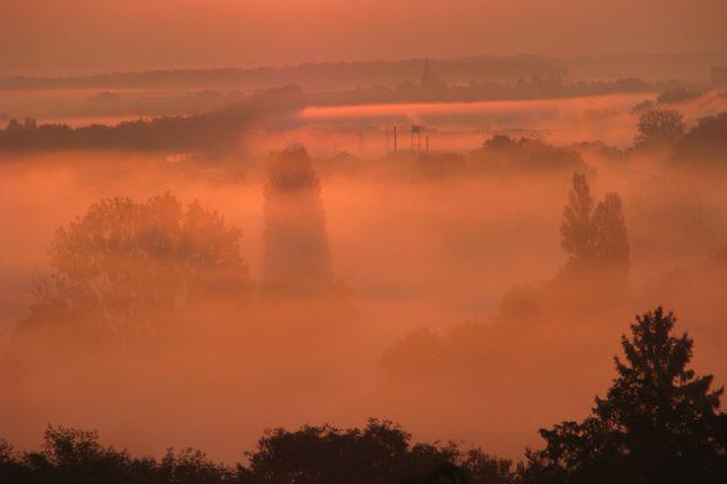 brume sur le florentinois