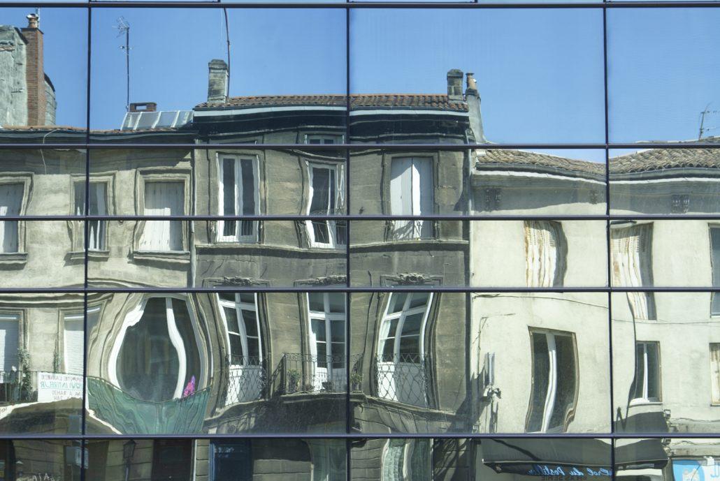 reflets opposés