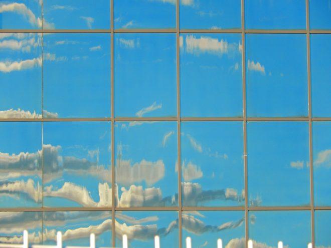 reflet de ciel