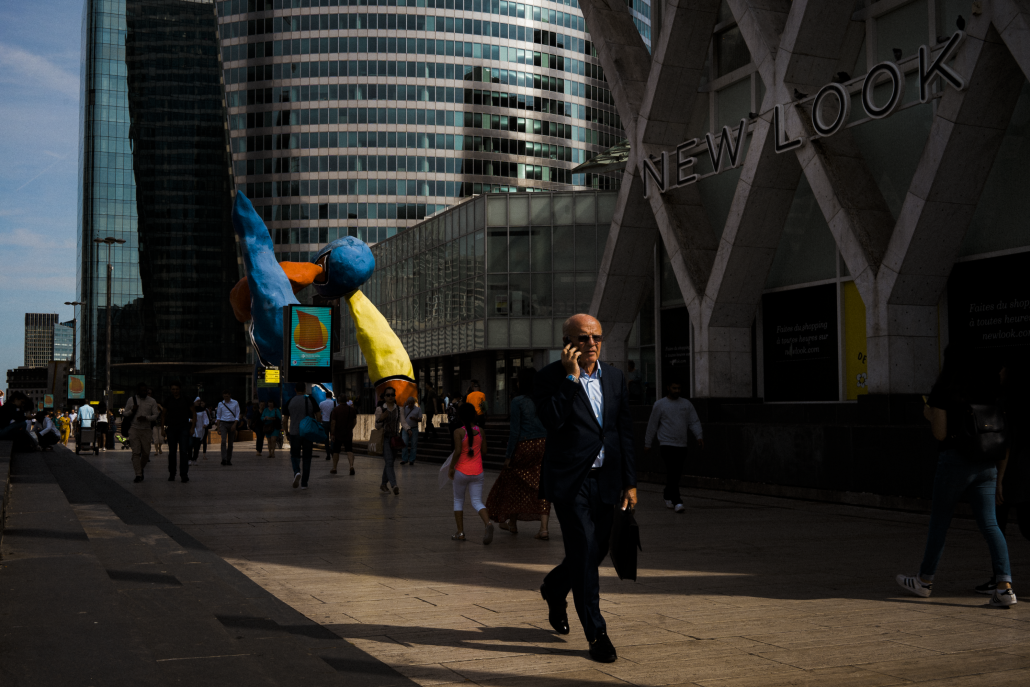 Businessman in La Defense