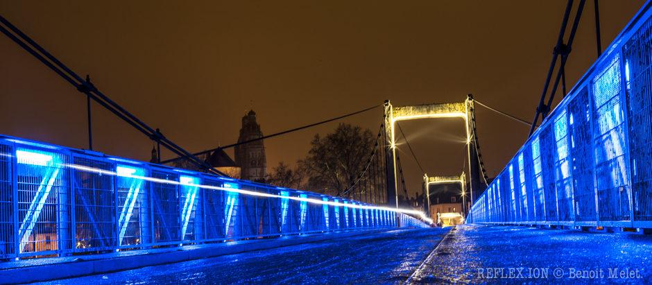 BLUE BRIDGE ON ICE.