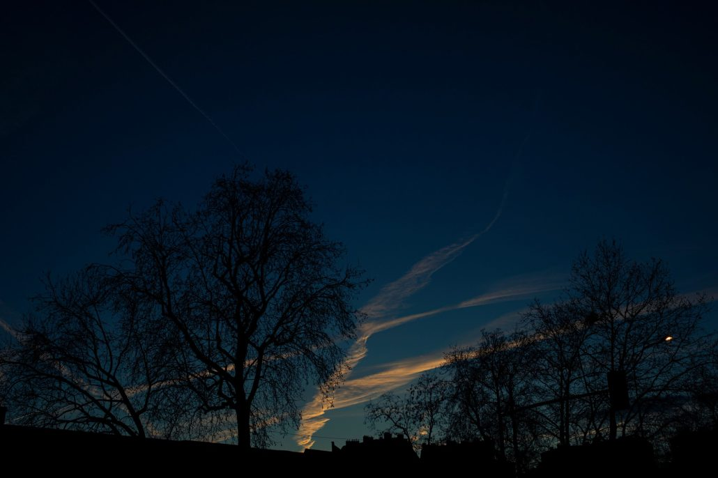 L'aube du soir