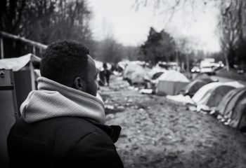 Camp de migrants D'Aubervilliers