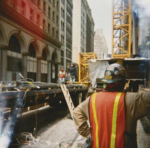 Manhattan workers
