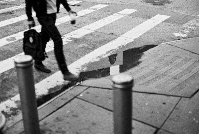 Le marcheur de Chinatown