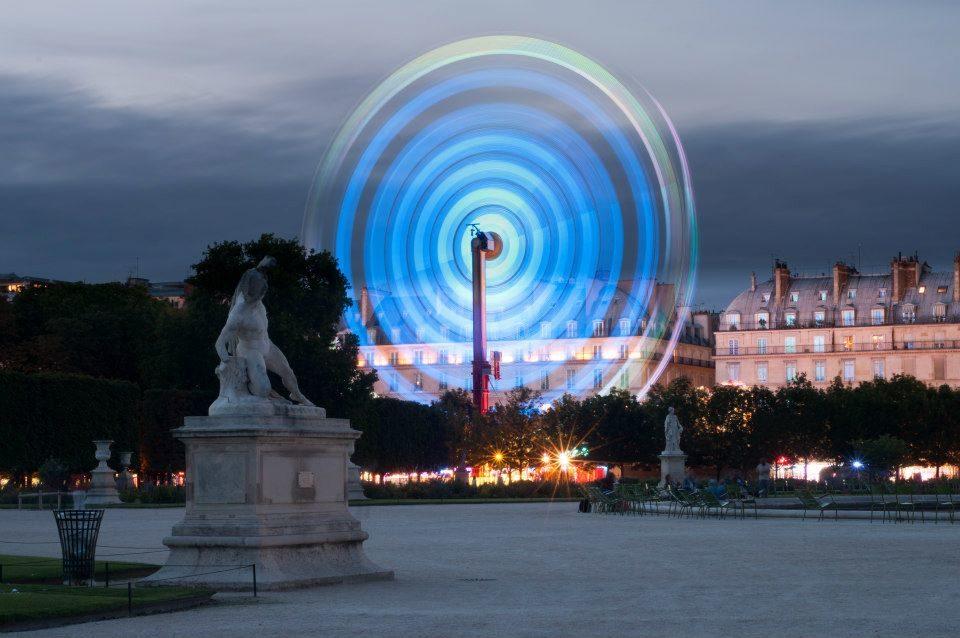 Tourbillon aux Tuileries