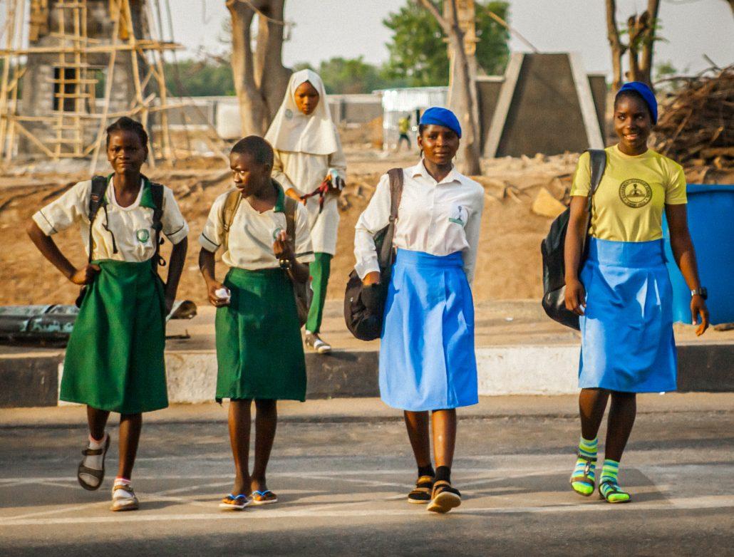 Ecolières nigériannes