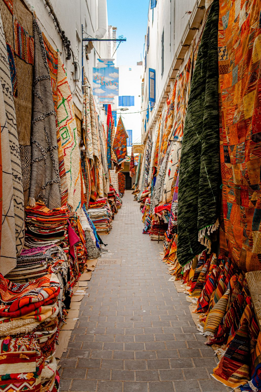 Tapis de rue – Maroc