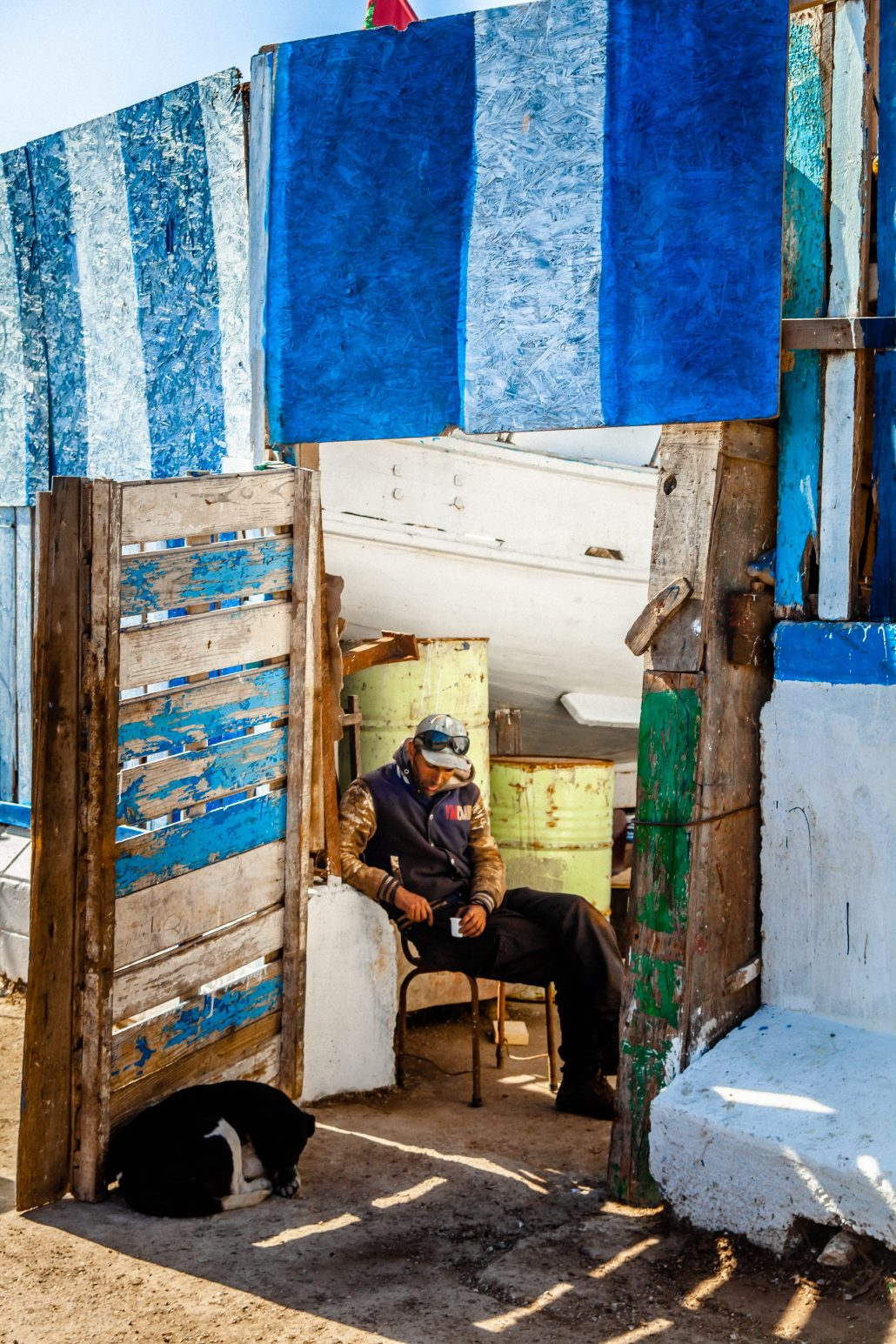 Attente – port d'Essaouira