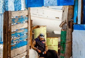 Attente - port d'Essaouira