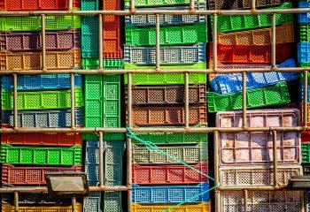 Caisses de poissons - Maroc