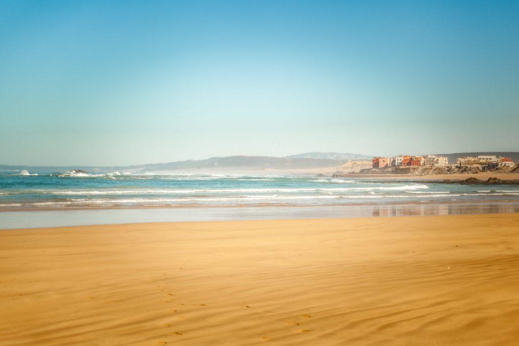 Essaouira vue de la plage