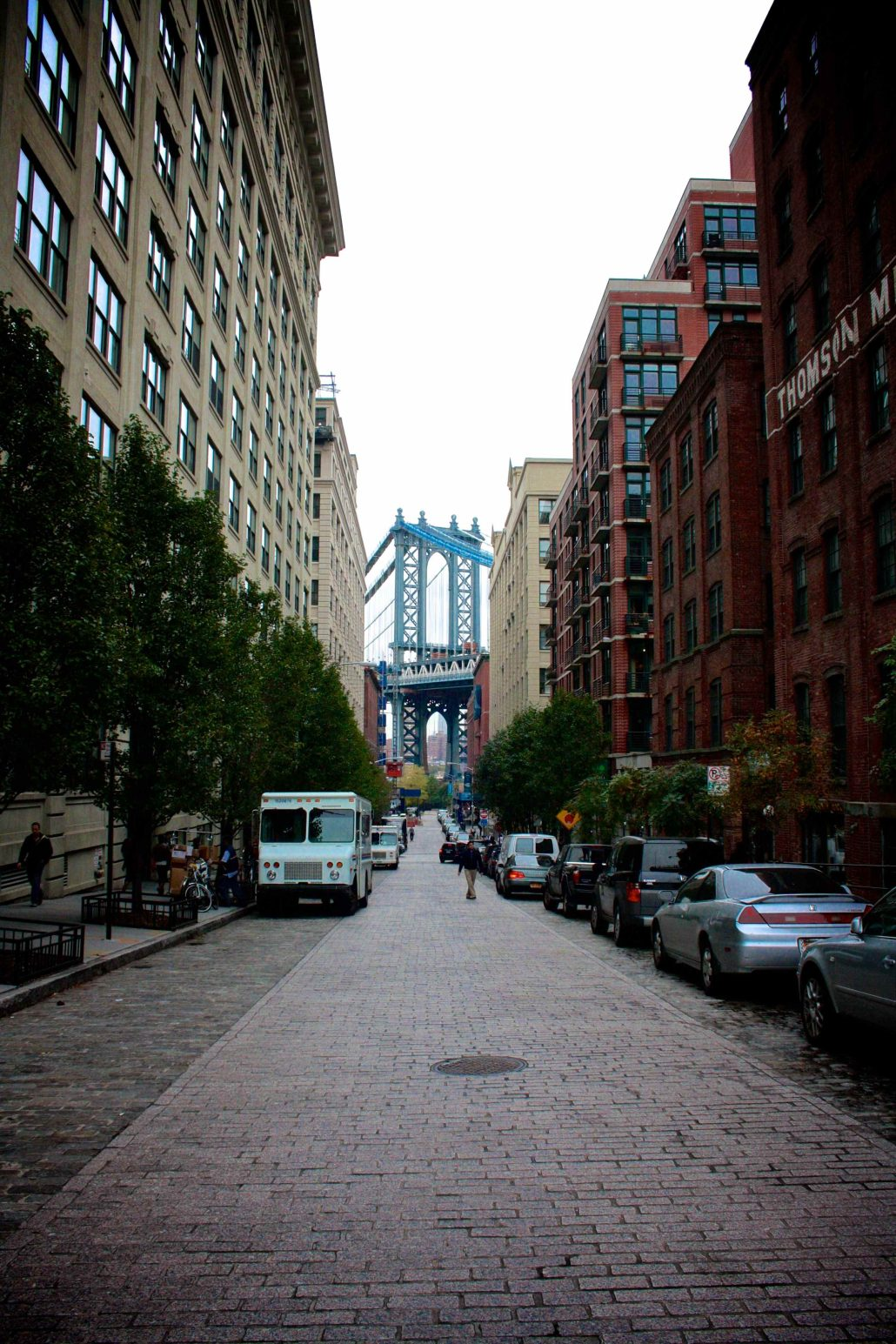 Manhattan Bridge Perspective