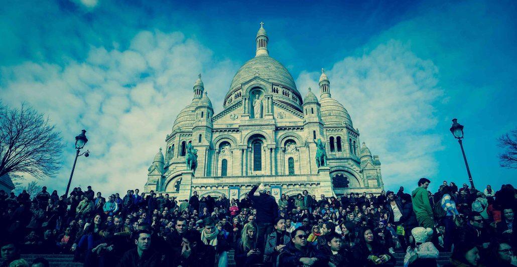 Ensemble à Montmartre