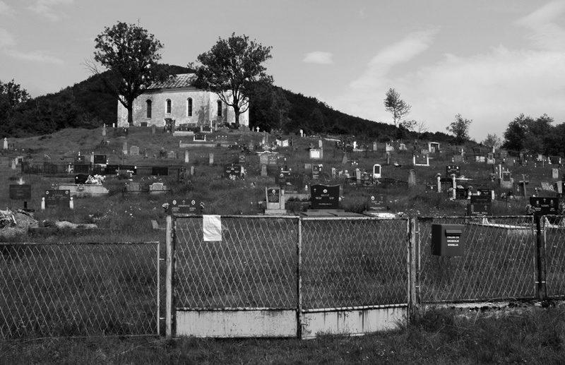 cimetière entre croatie et bosnie