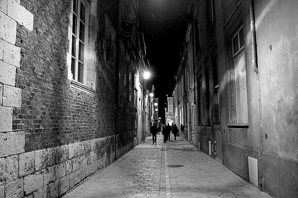 Rue sombre