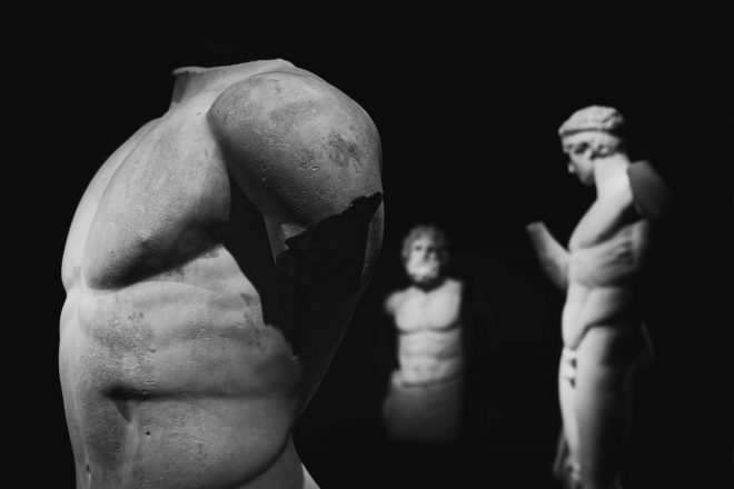 The countless aspects of beauty (Athens museum)