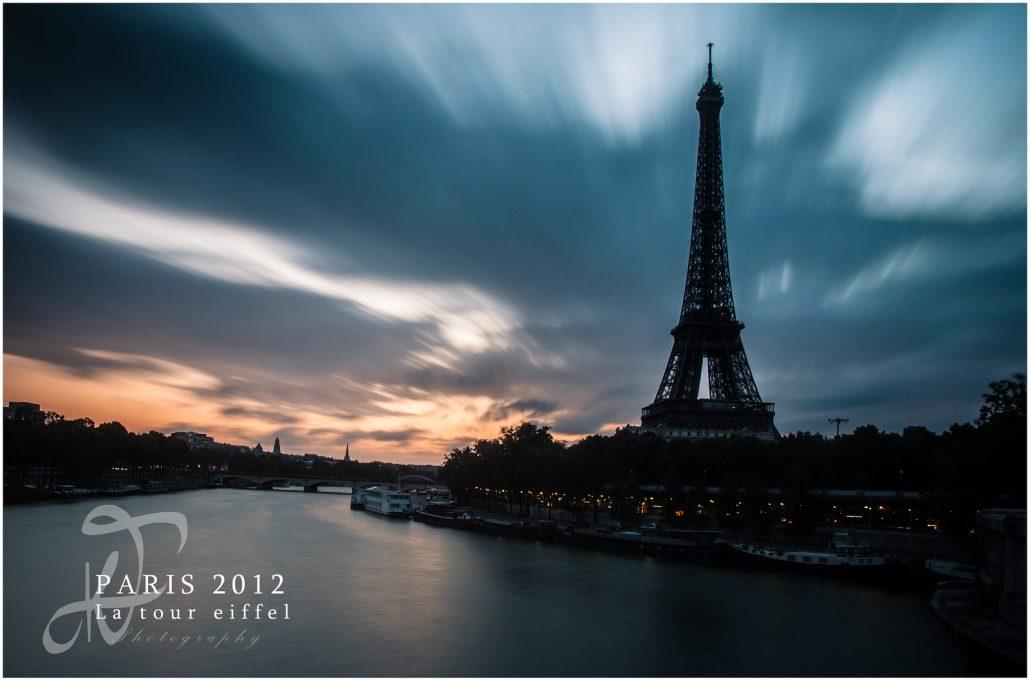 La Tour Eiffel du pont de Bir Hakeim