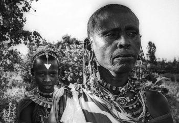 la petite fille Massaï