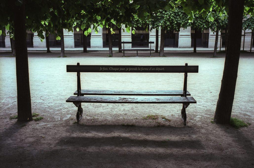 dans Paris déserté…