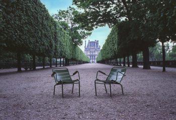 dans Paris déserté...