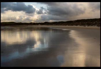 Orage sur la plage