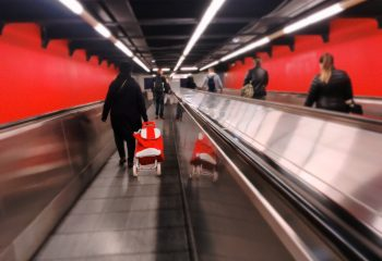 Rouge métro