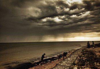 orage sur l'ile de Ré