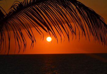 Coucher de soleil à Varadero