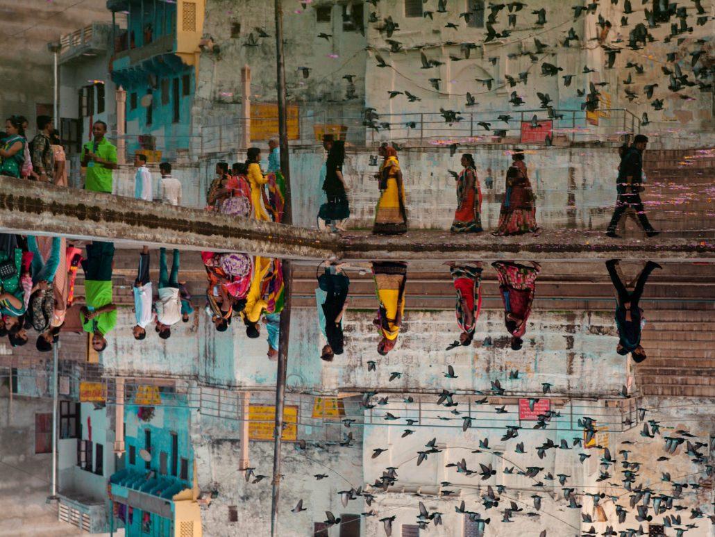 Reflet à Pushkar