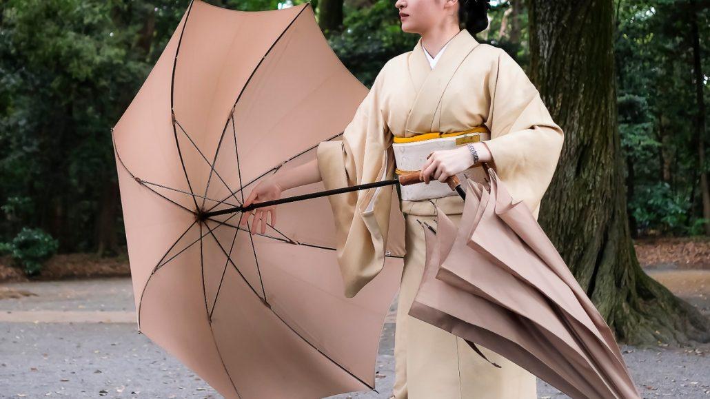 Ballet de parapluies