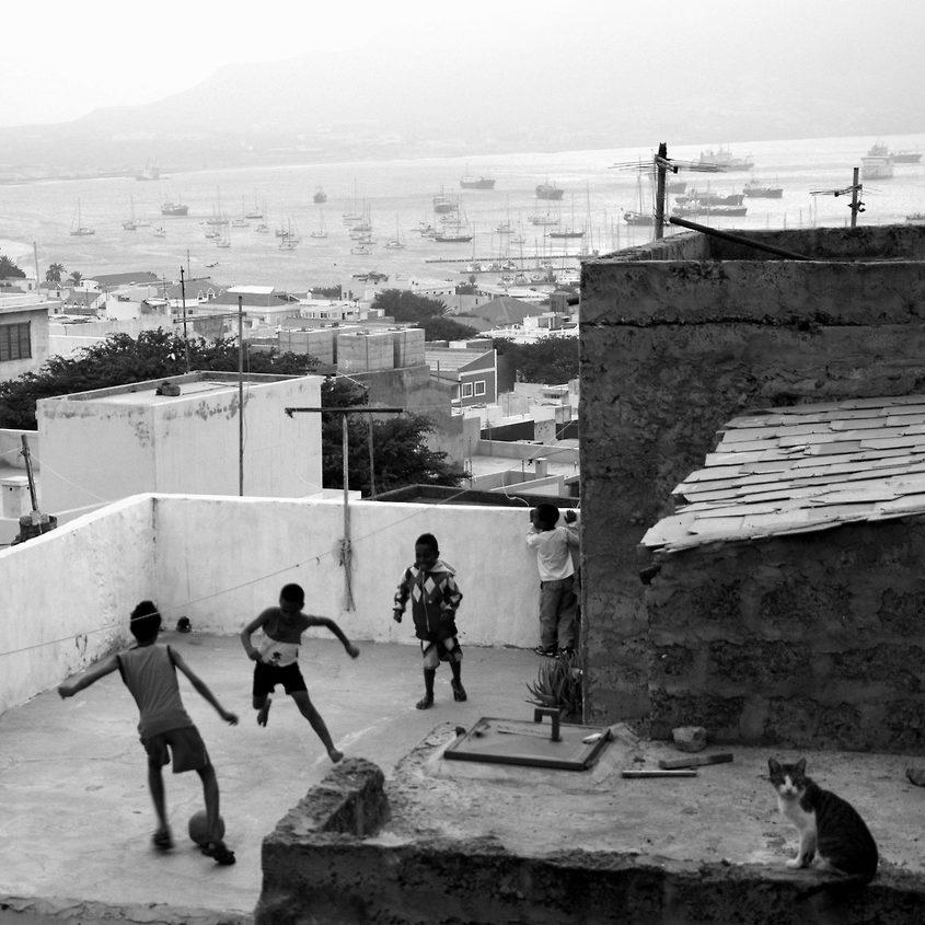 Sur les toits de Mindelo