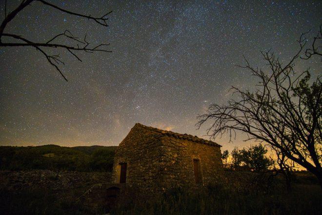 la maison dans les étoiles !
