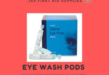 Eye Wash Pods | Jax First Aid