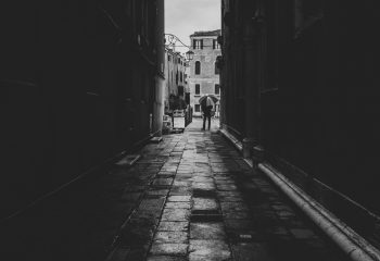 One people in Venice