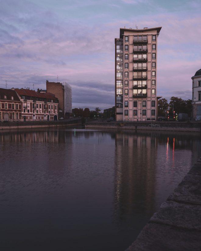 Sunrise in Lille