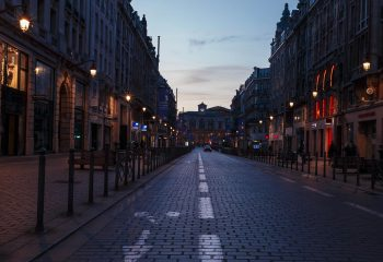 Sunrise in Lille