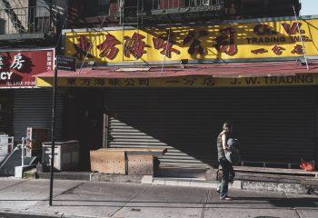 Un matin à Chinatown