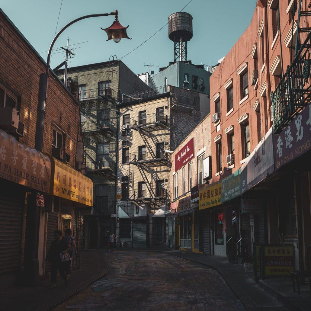 Somewhere in Chinatown