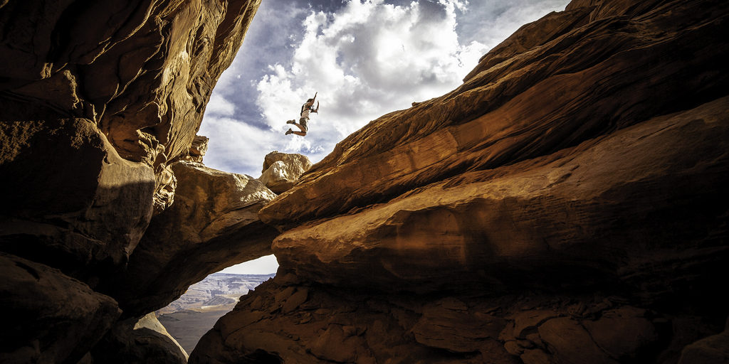 Jump into Canyonlands