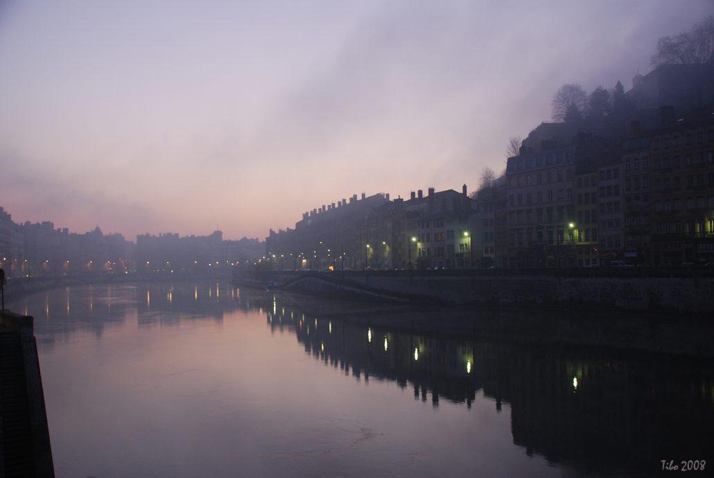 Bord de Saône, à Lyon