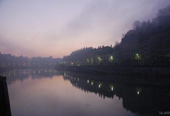 Matin d'hiver à Lyon