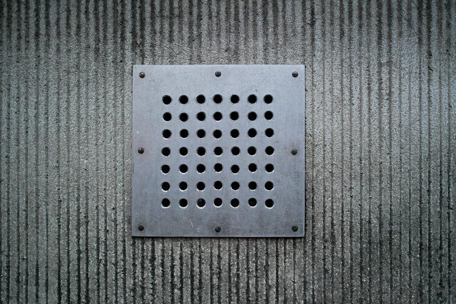carré gris métal