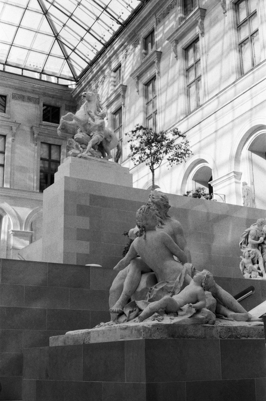 nous perdre au Louvre