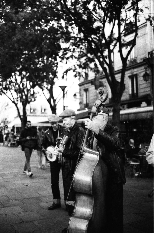 du jazz dans la ravin du dédale parisien