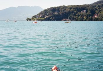 soleil dans l'eau