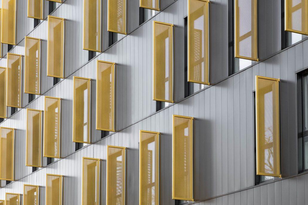 Facade immeuble de bureaux