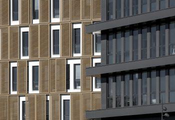 Facades immeubles de bureaux