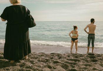 Positano's beach