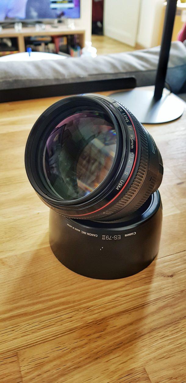 Canon EF 85 mm f/1.2 L II USM